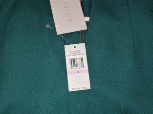 1.State Evergreen V Neck Dress SZ 6