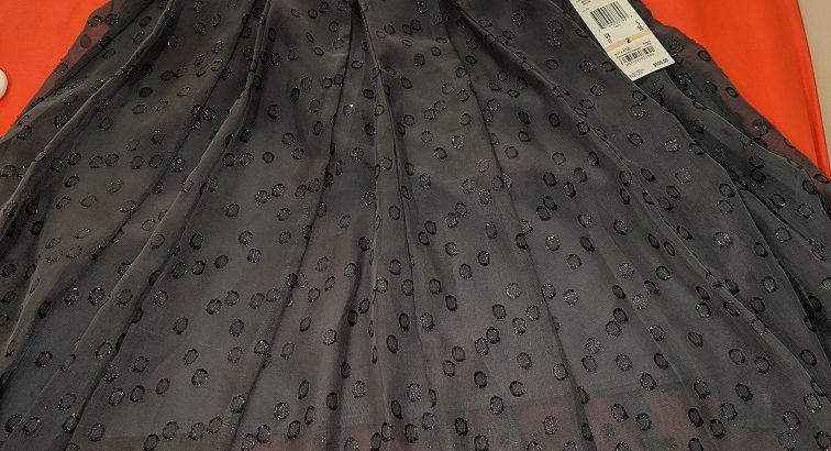 Anne Klein Ash/Silver Size 2 Skirt