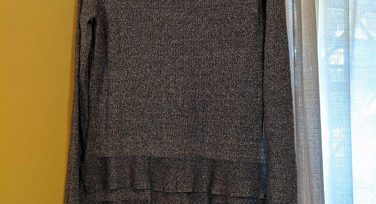 BCBG Max Azria Grey Dress Size L