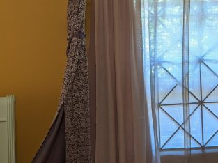 BCBG Silver Lace Dress Size:4