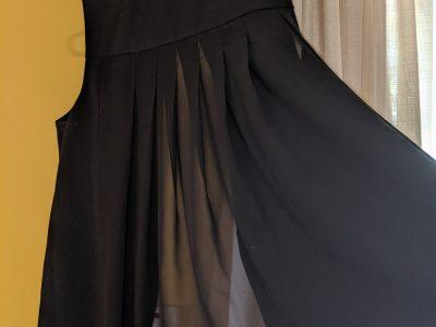 Black Banana Republic Sheer Back Vest: Size 10