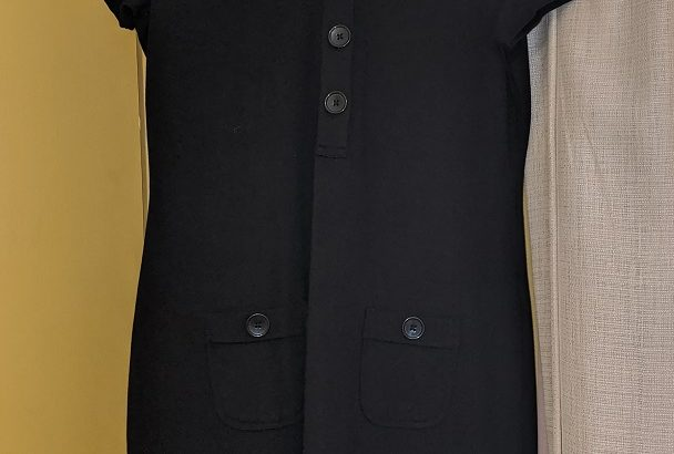 Black Banana Republic Straight Dress Size 10