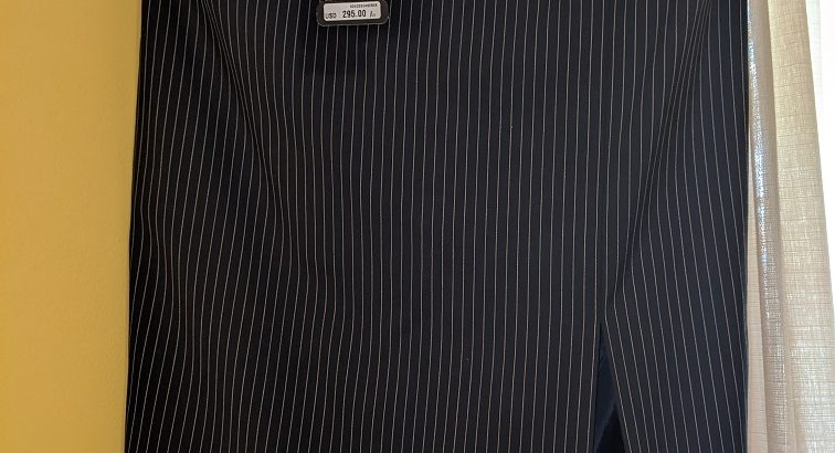Escada Black Striped Skirt EUR SZ 42/US 8.5-9