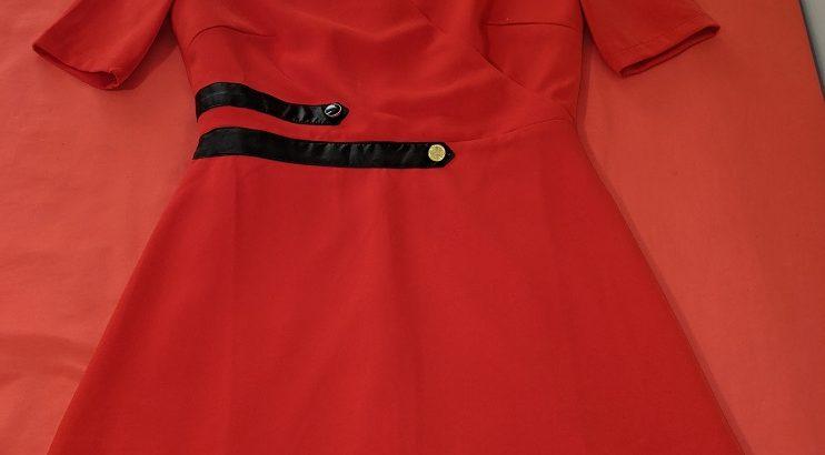 Jeetly Petite Red Dress: Size 8