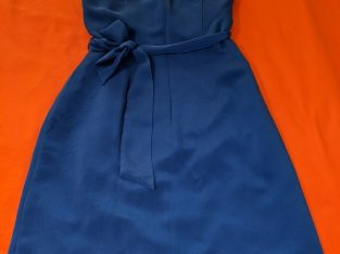 Jones New York Blue Silk Dress: Size 6