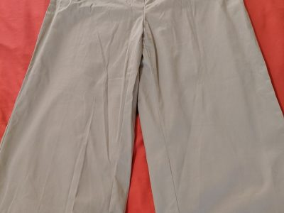 O.M.G. Collection Khaki Colored Knee Length Culottes: Size 12