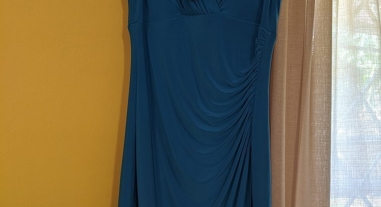 Ralph Lauren Turquoise Women's Dress Sz.10